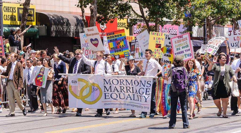 Mormons for Marriage Equality, San Franc by InSapphoWeTrust, on Flickr