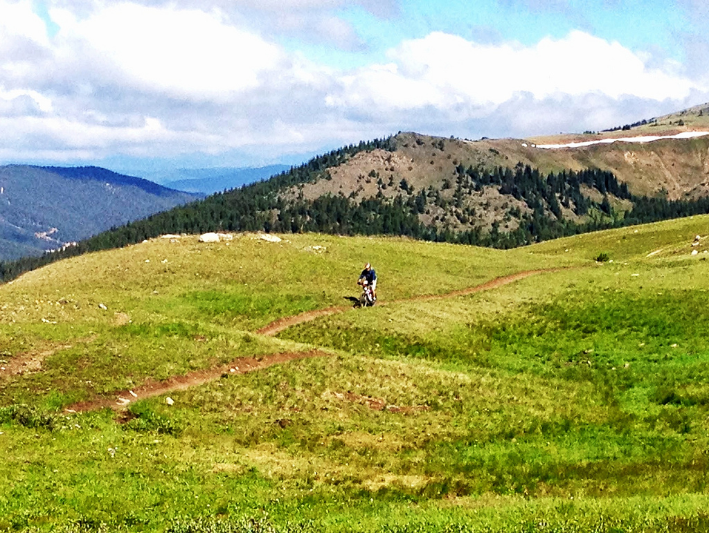 Mountain Biking On The Monarch Crest Tra by TRAILSOURCE.COM, on Flickr