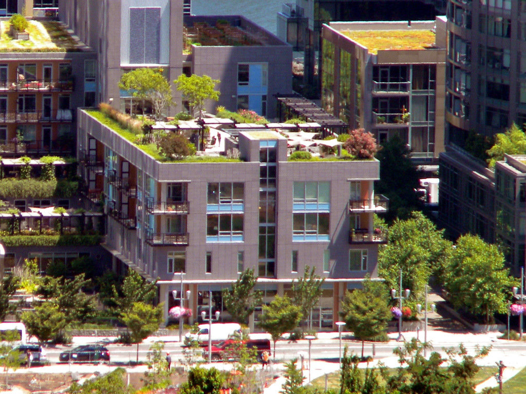 Rooftop gardens in South Waterfront, Por by GregPGriffin, on Flickr