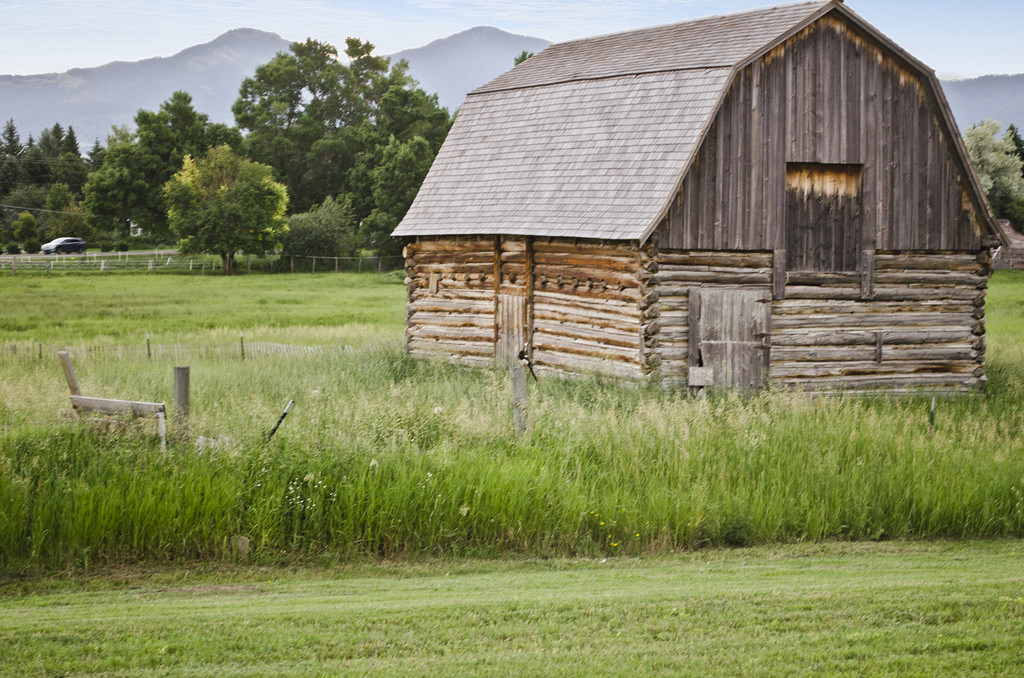Tinsley living farm barn - Museum of the by Tim Evanson, on Flickr