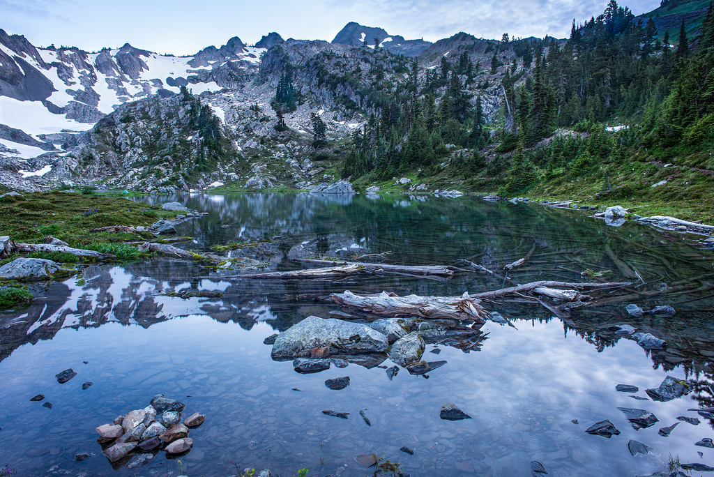 Lake of The Angels, Olympic National Par by nick.mealey, on Flickr