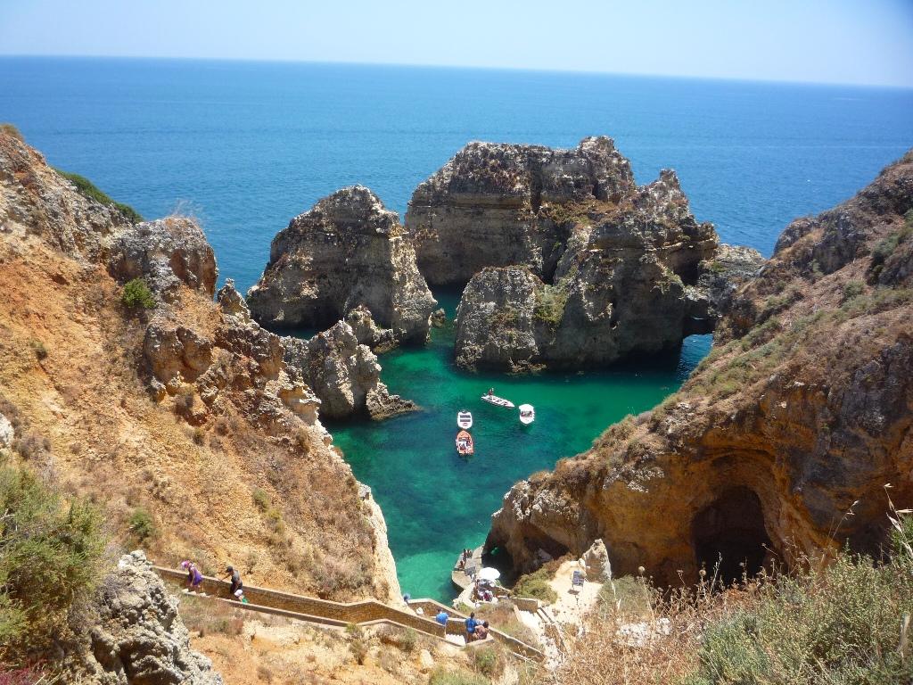 Ponta da Piedade, Lagos, the Algarve - P by GreenLakeBlue Photography, on Flickr