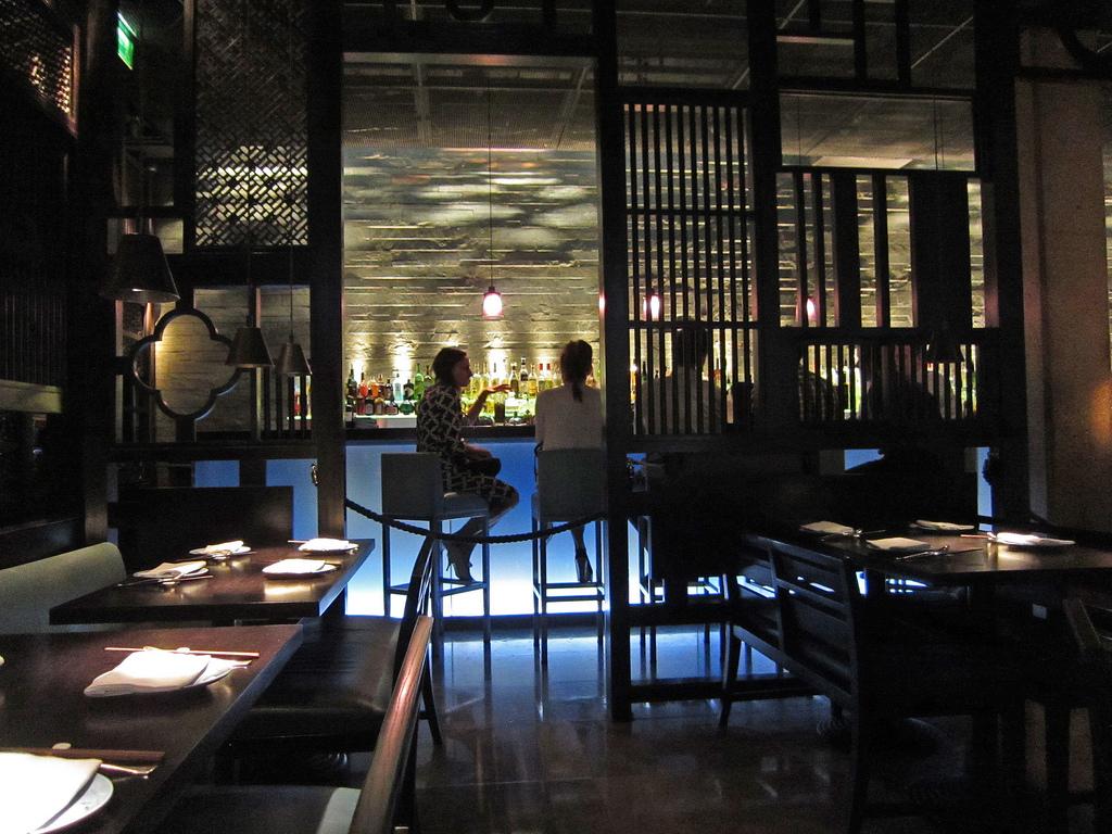 Hakkasan restaurant, London by Alan Light, on Flickr