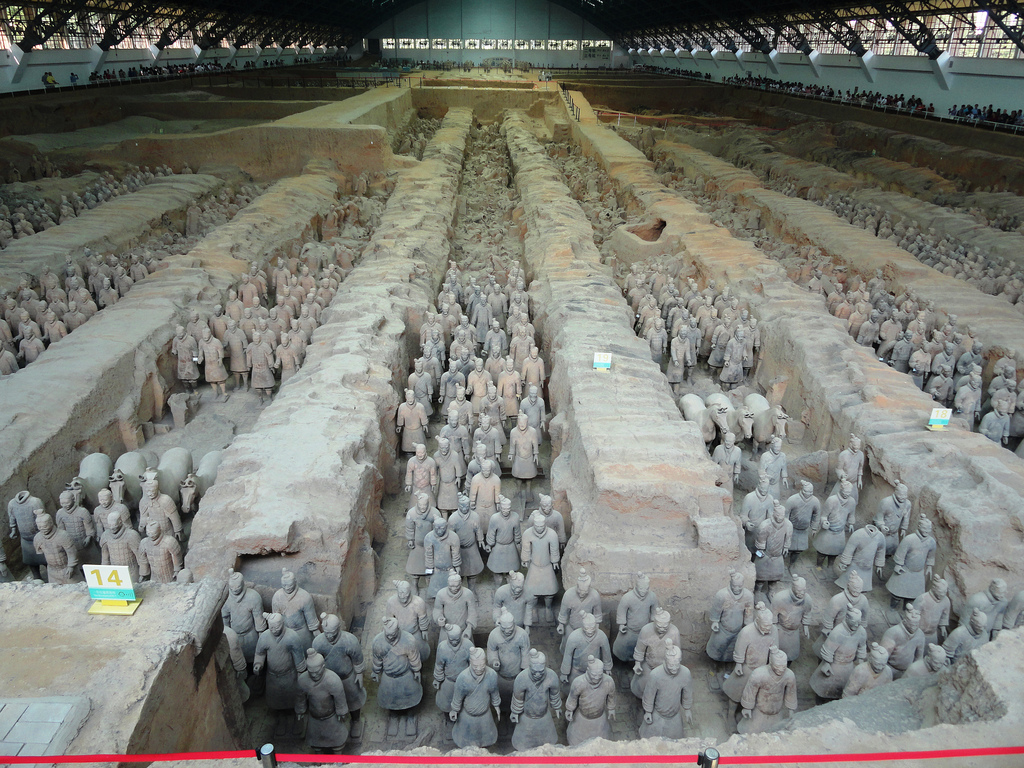 Terracotta Warriors, Xian, China by travelourplanet.com, on Flickr