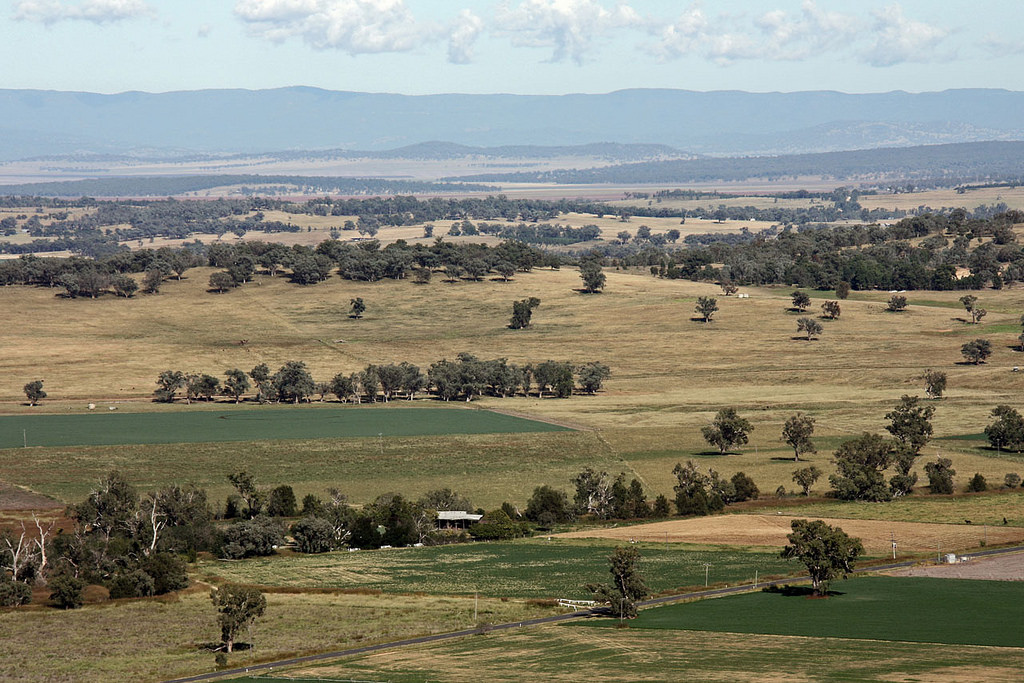 Liverpool Plains from Quirindi by Tim J Keegan, on Flickr