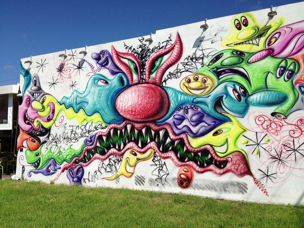 Kenny Scharf Mural Wynwood Walls by Phillip Pessar, on Flickr