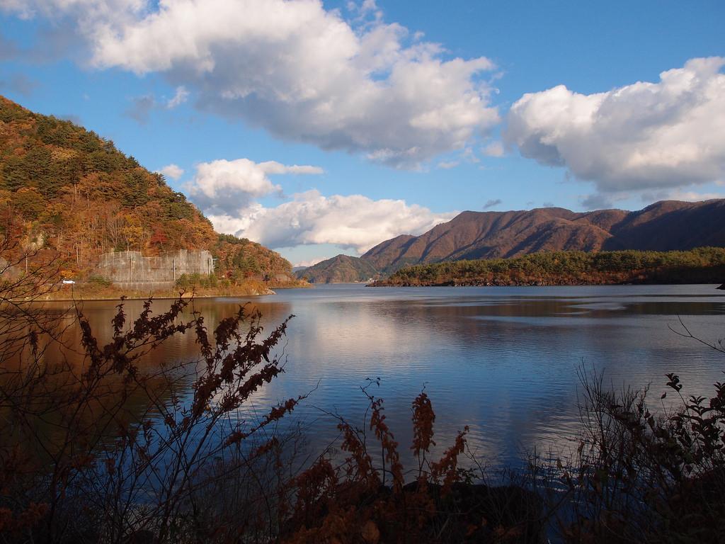 Saiko Minshuku Mura @ Lake Saiko by *_*, on Flickr