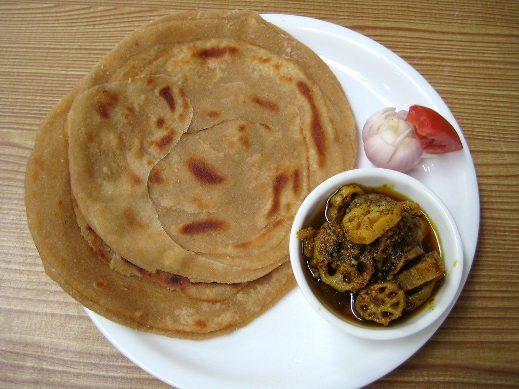 Lachha Paratha from Indian Cuisine by Sonia Goyal Jaipur, on Flickr