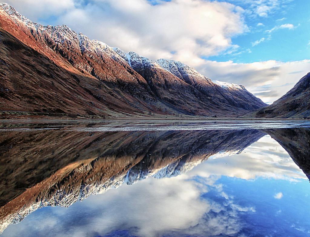 Glencoe, the Aonach Eagach ridge by J McSporran, on Flickr