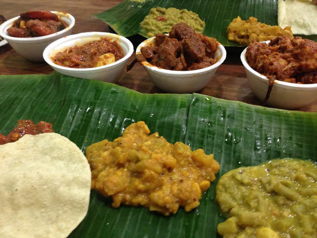 Southern Indian food, Serangoon, Singapo by Jack at Wikipedia, on Flickr