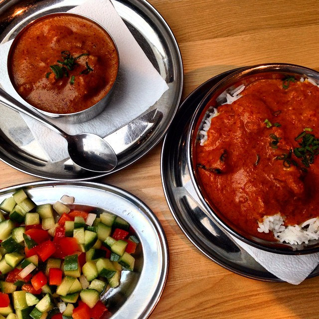 Finally! Awesome Indian food in #Vladivo by mighty.travels, on Flickr