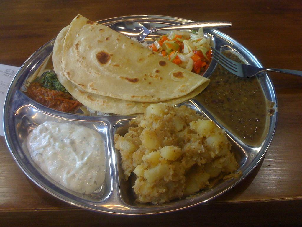 Kasa: Indian food by eliazar, on Flickr