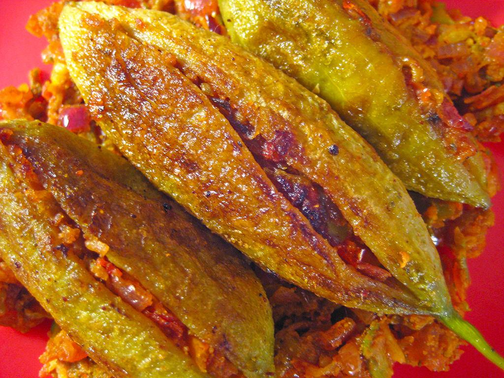 Stuffed Karela Recipe From Indian Cuisin by Sameer Goyal Jaipur, on Flickr