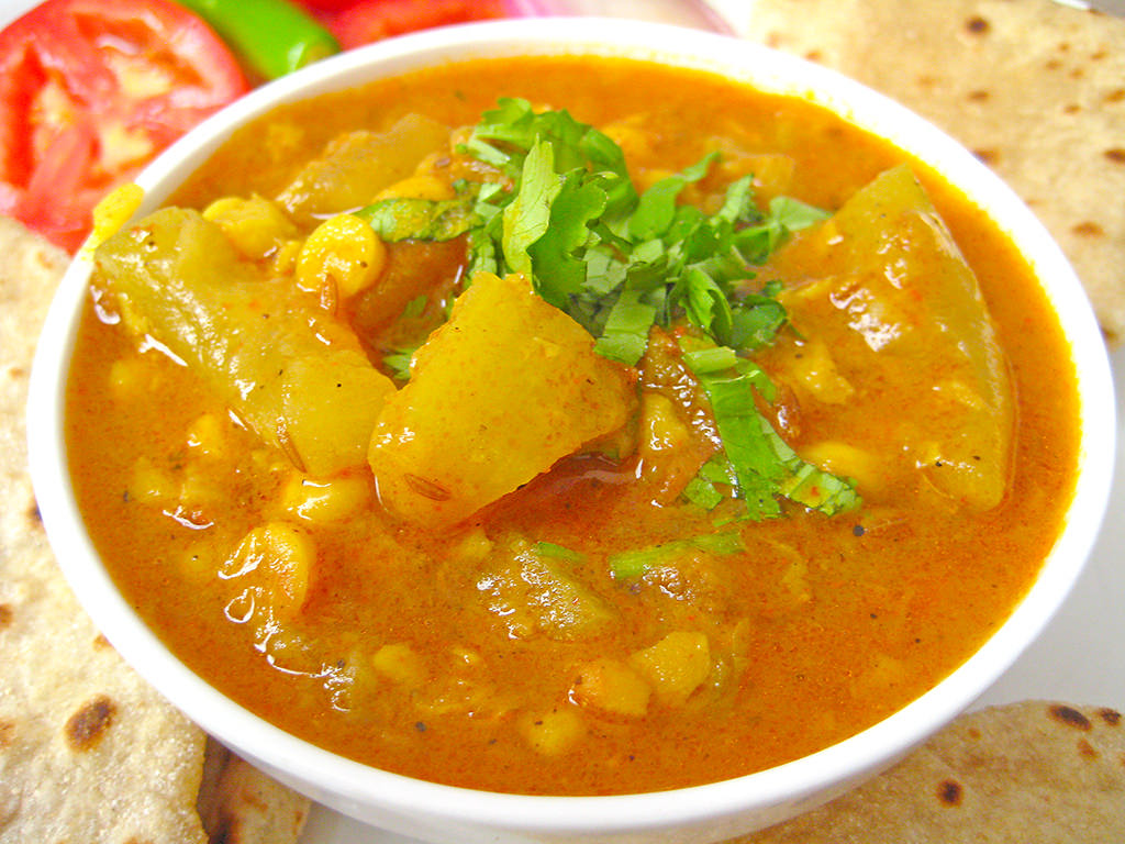 Lauki Chana Dal Recipe From North Indian by Sonia Goyal Jaipur, on Flickr