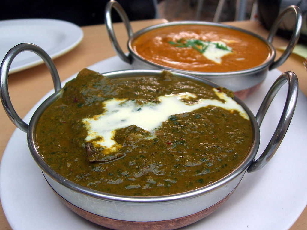 Lamb Saag and Chicken Korma - Northern I by avlxyz, on Flickr
