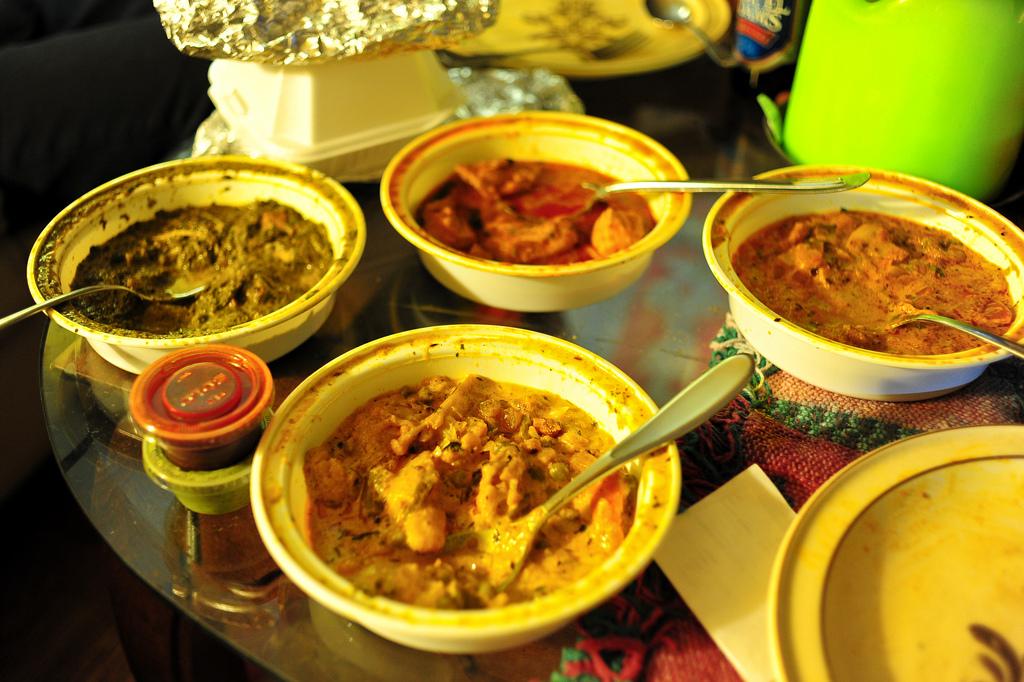 Indian food by eddie.welker, on Flickr