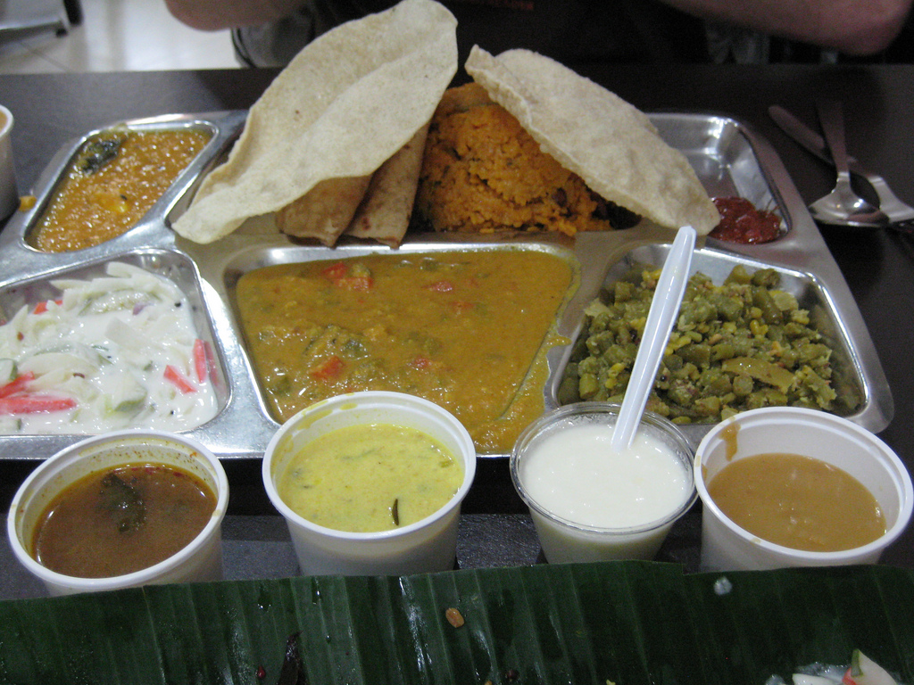 The food tour begins: Awesome Indian foo by josh.ev9, on Flickr