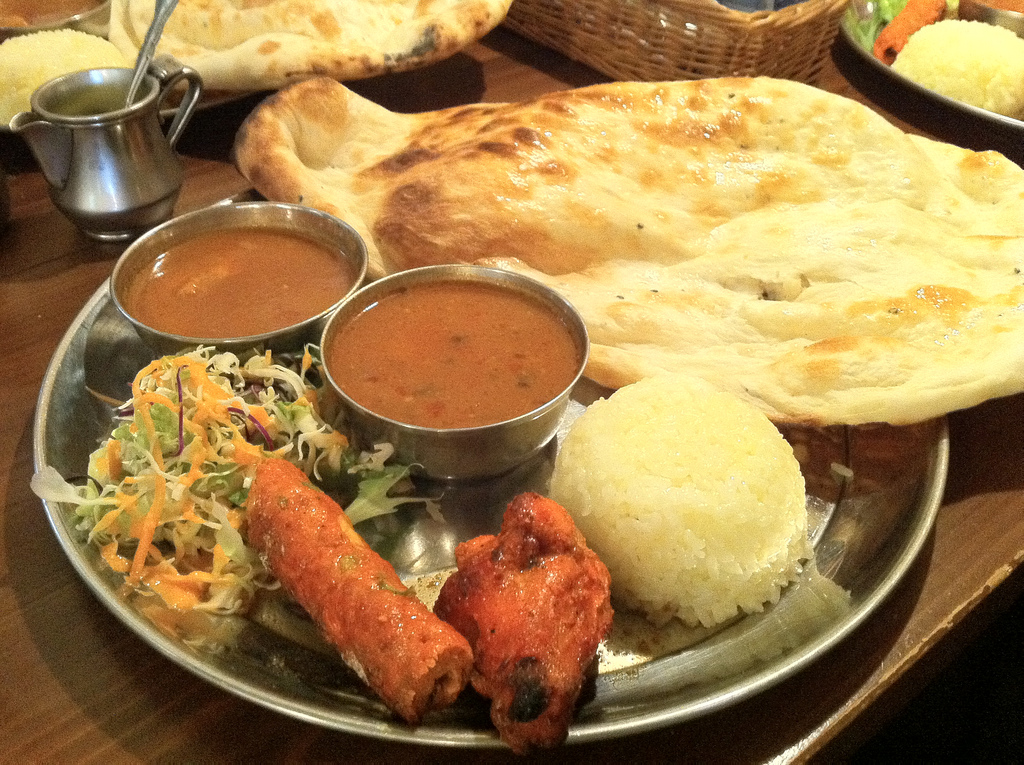 Indian curry lunch by kimubert, on Flickr