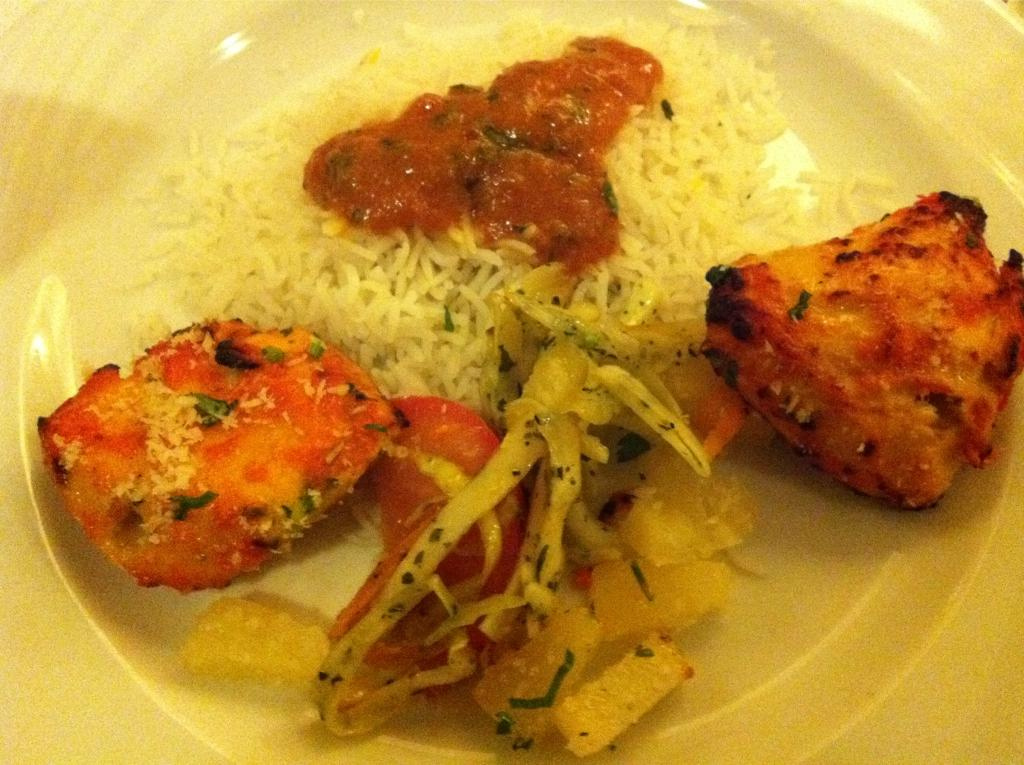 Indian food by portenkirchner, on Flickr