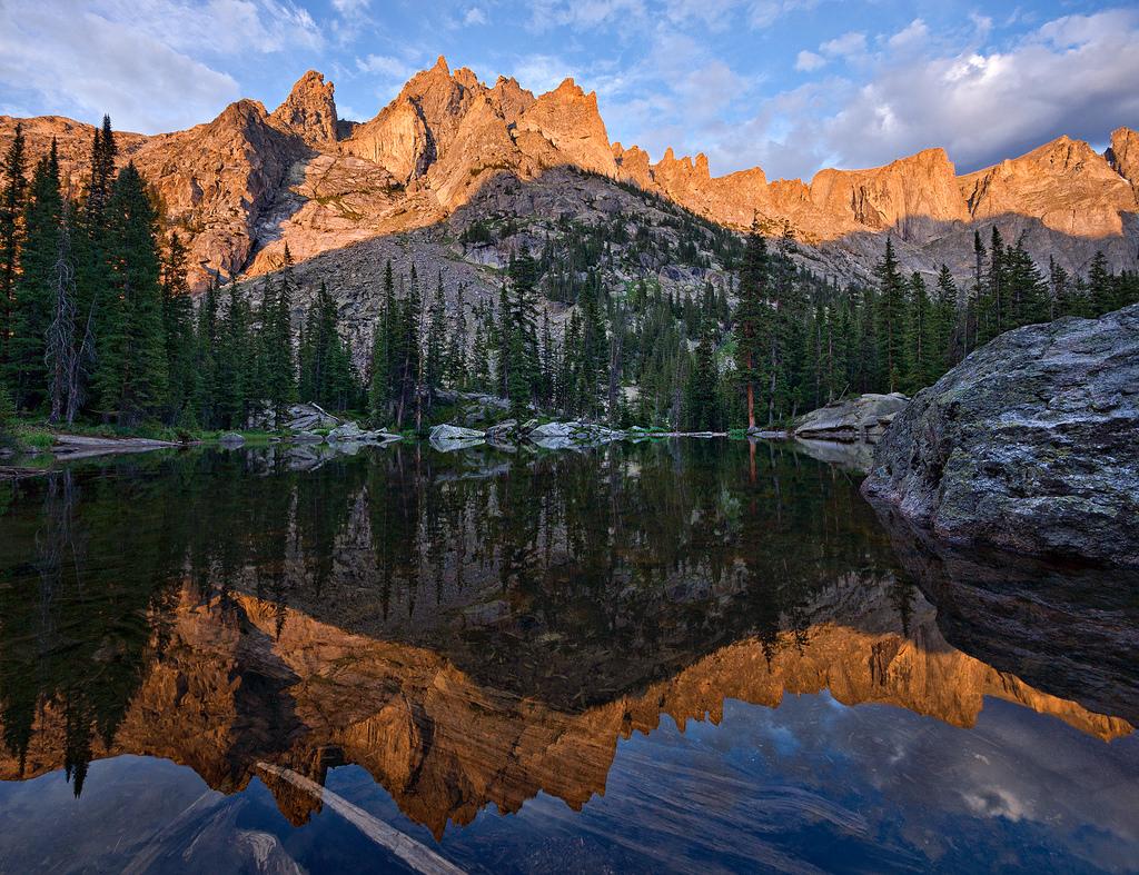Mirror Lake Sunset by Steven Bratman, on Flickr