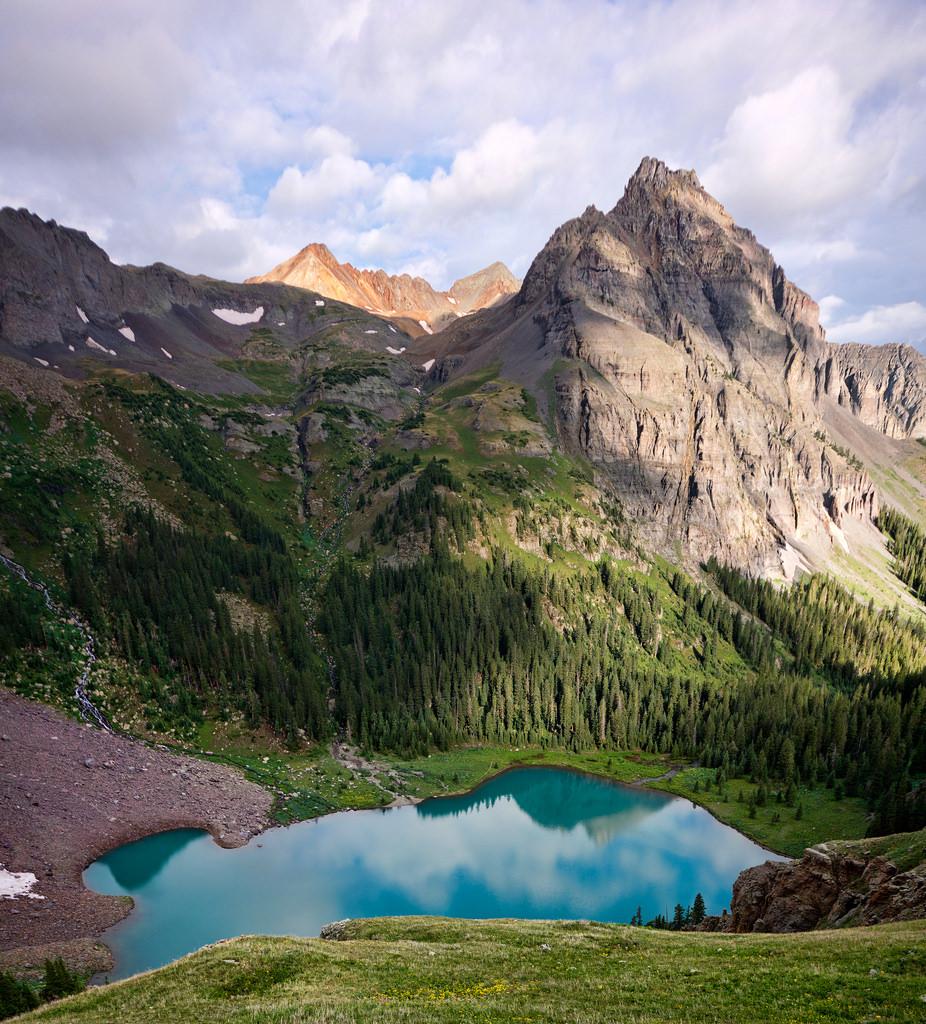 Lower Blue Lake by Steven Bratman, on Flickr