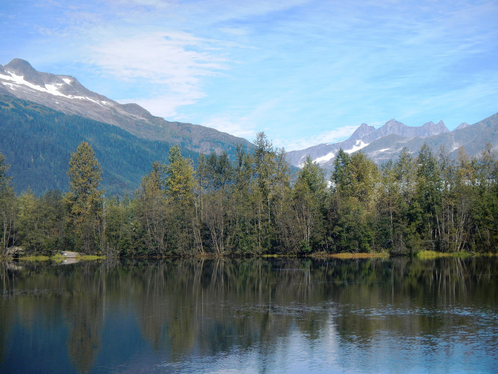 Dredge Lake, Juneau. Photo by DeAnna Per by USFS Region 10, on Flickr