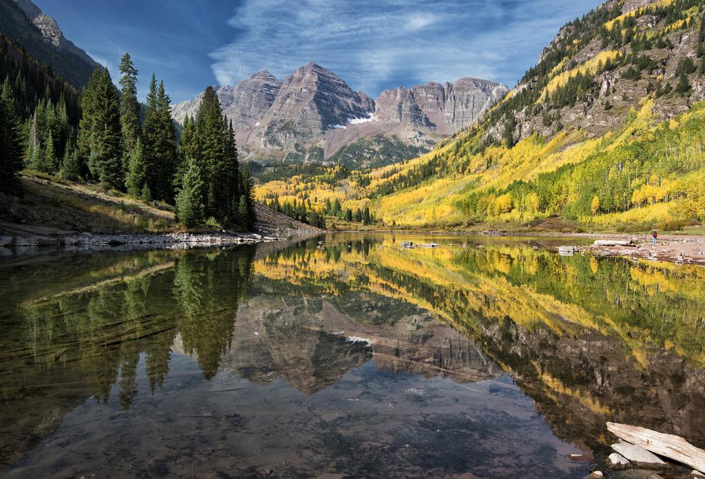 Maroon Lake by snowpeak, on Flickr