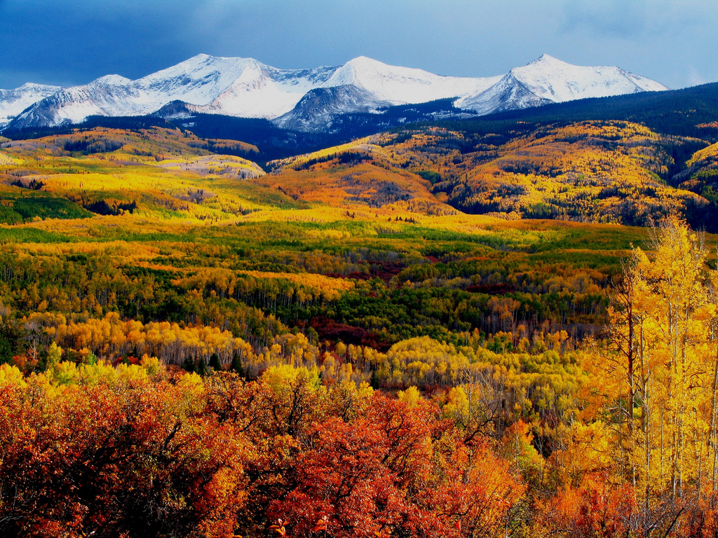Autumn Mountains by mellowrapp, on Flickr