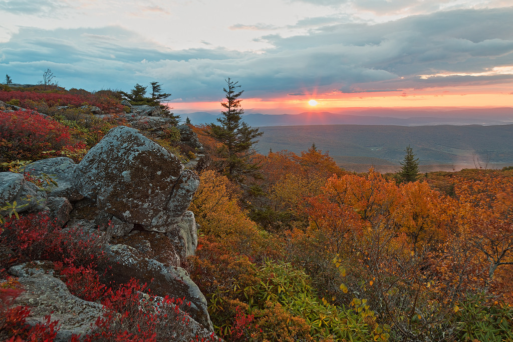 Autumn Dolly Sods Sunrise - HDR by freestock.ca ♡ dare to share beauty, on Flickr